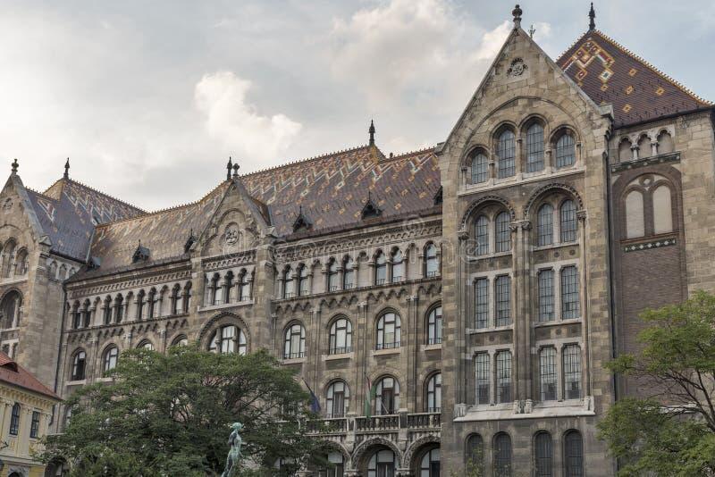 Krajowi archiwa Węgry budynek fotografia stock
