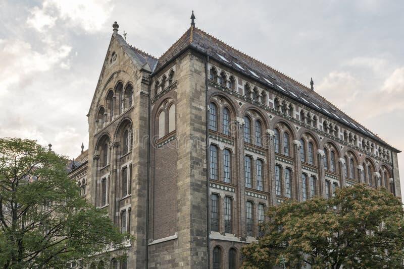 Krajowi archiwa Węgry budynek zdjęcie stock