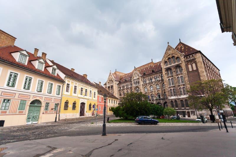 Krajowi archiwa Węgry w Budapest obraz stock