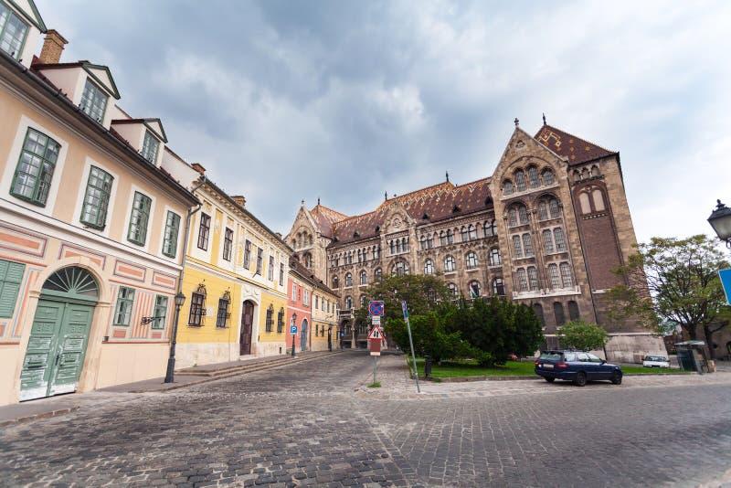 Krajowi archiwa Węgry w Budapest obraz royalty free