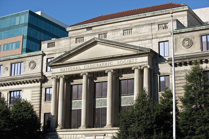 Krajowy Geograficznego społeczeństwa administraci budynek w domyciu zdjęcie stock