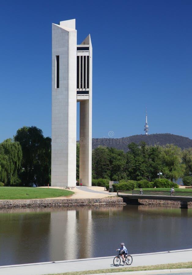 Krajowy karylion w Canberra, Australia zdjęcia royalty free