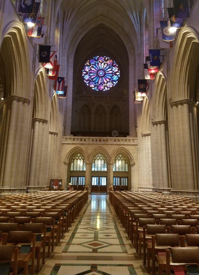 Krajowy Katedralny wnętrze zdjęcie stock