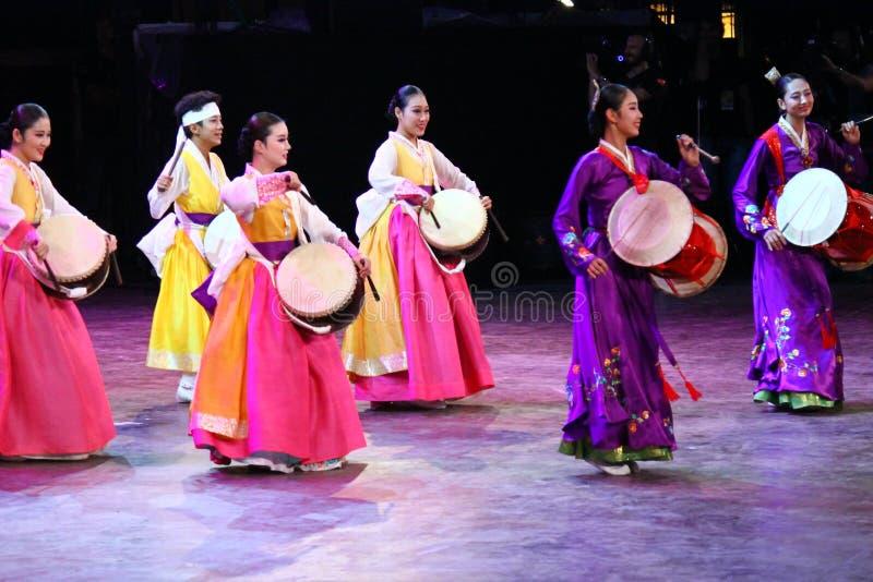 Krajowy kostium Południowy Korea zdjęcia stock