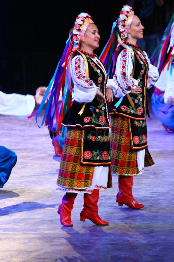 Krajowy kostium Rosja obrazy royalty free