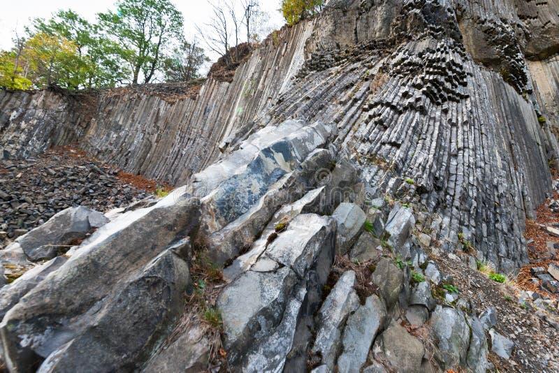 Krajowy kulturalny punktu zwrotnego Zlaty vrch, Jetrichovice region, czech Szwajcaria, republika czech zdjęcia stock