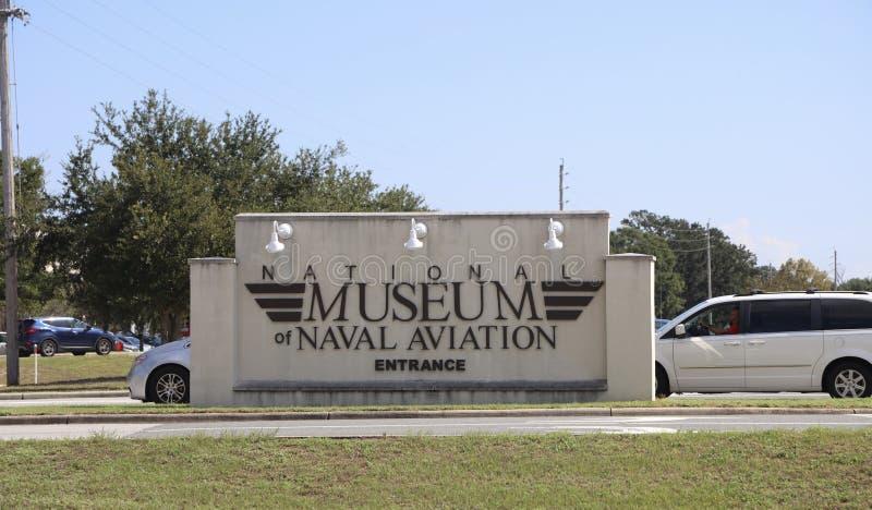 Krajowy lotnictwa muzeum, Pensacola, Floryda fotografia royalty free