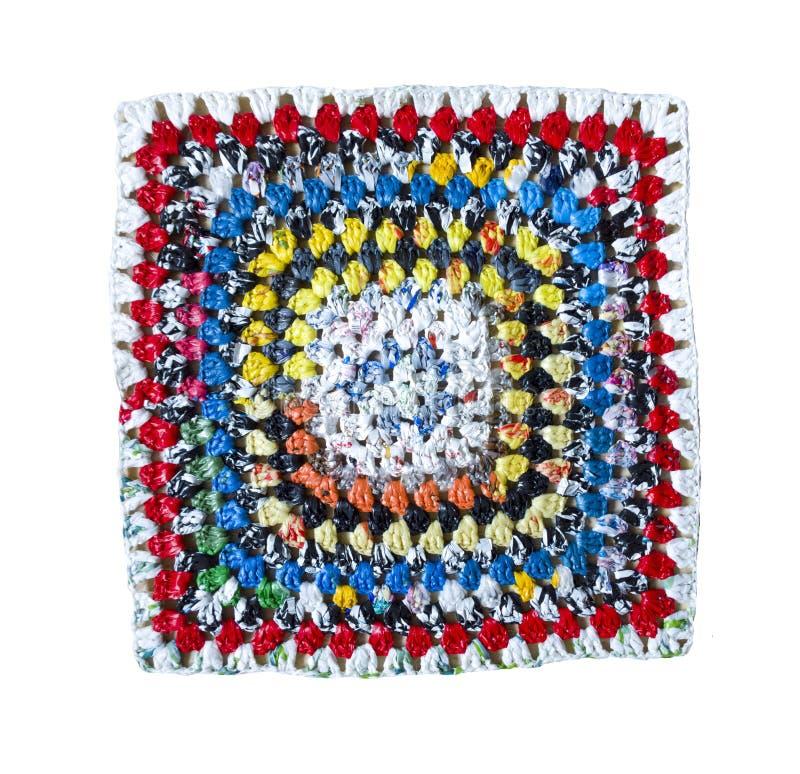 Krajowy Meksykański dywanik handmade Ludowy dywan w Mexico fotografia stock
