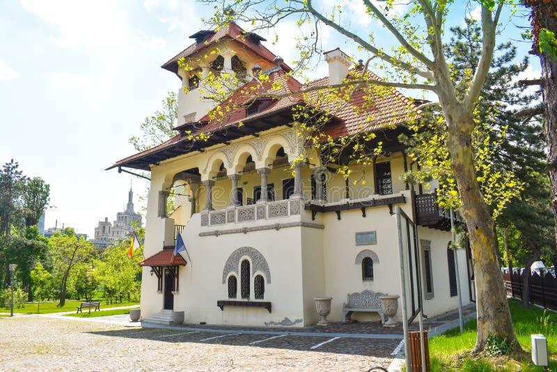 Krajowy muzeum sztuki 04 - Bucharest, Rumunia - 05 2019 obraz royalty free