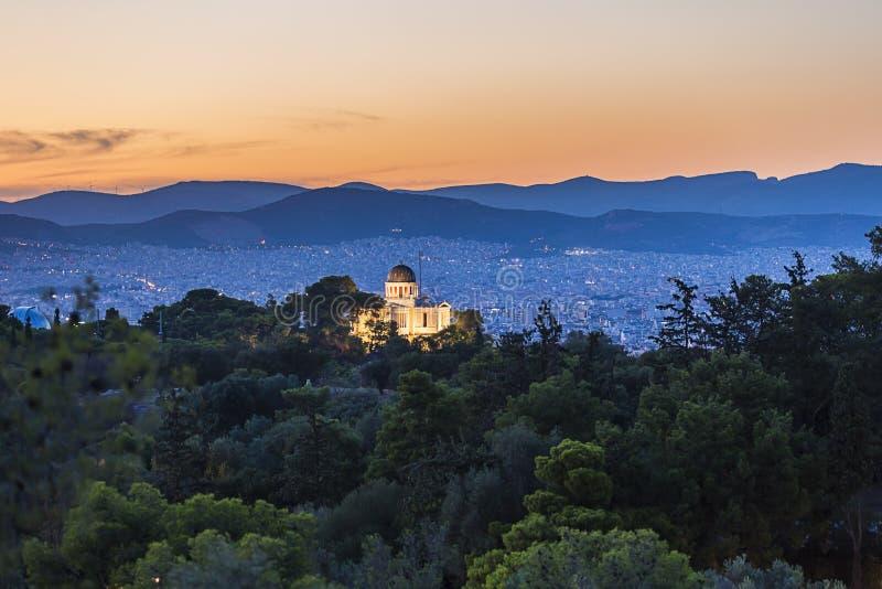 Krajowy obserwatorium Ateny, Grecja obrazy stock