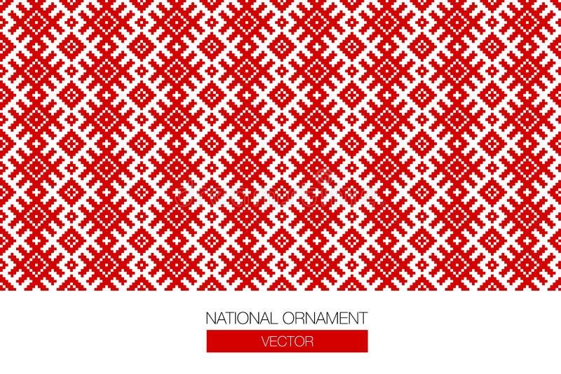 Krajowy ornamentu tło ilustracja wektor