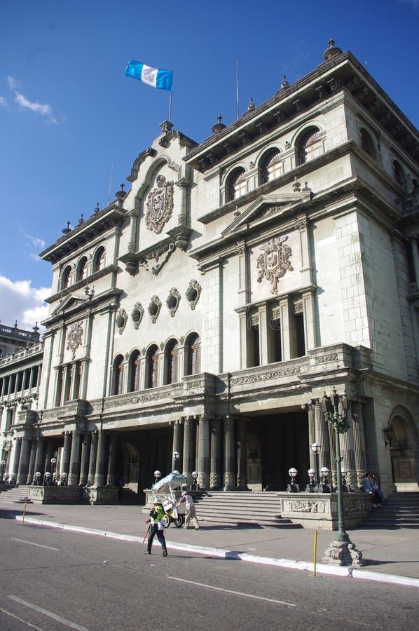 Krajowy pałac w Guatemala mieście obrazy royalty free