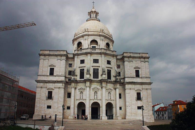 Krajowy panteon w Lisbon, Portugalia zdjęcia royalty free
