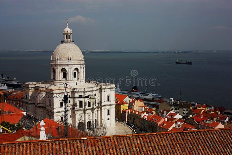 Krajowy panteon w Lisbon, Portugalia obraz stock