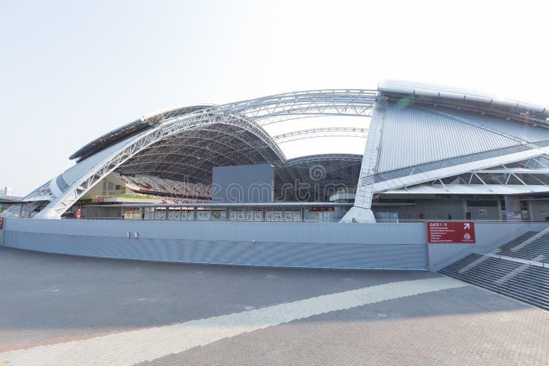 Krajowy stadium, Singapur obraz royalty free