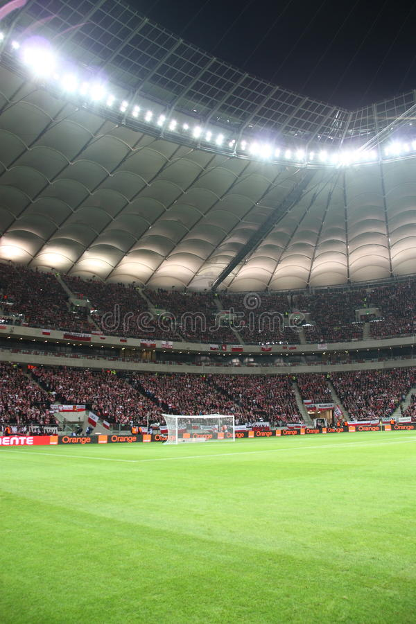krajowy stadium Warsaw obrazy stock