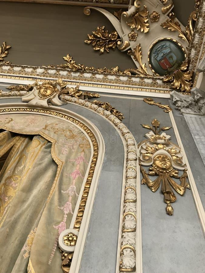 Krajowy teatr Panamscy 4 wnętrza Najlepszy ilość zdjęcie stock