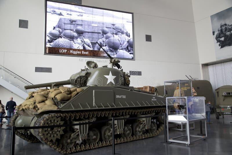 Krajowy WWII muzeum w Nowym Orlean zdjęcie royalty free