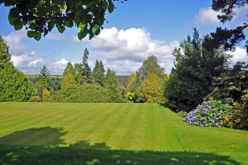 kraju anglików ogród zdjęcia royalty free