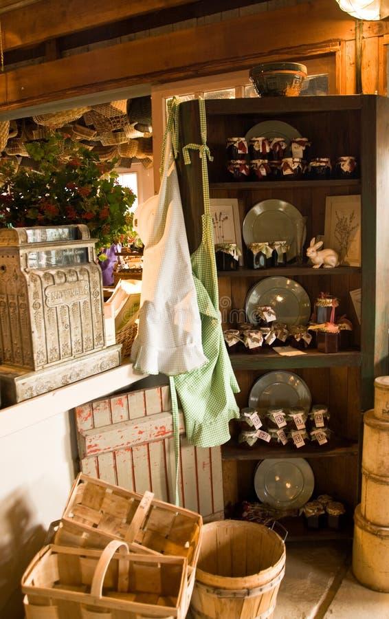 kraju gospodarstwa rolnego sklep fotografia royalty free