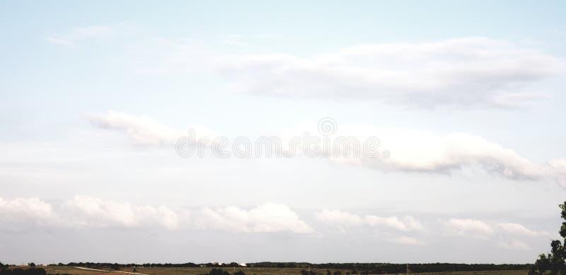 Kraju niebo zdjęcia stock