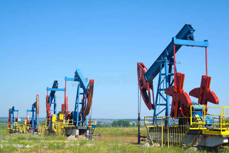 kraju olej obraz stock