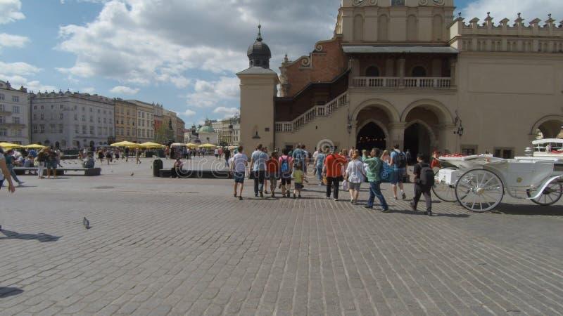 Kraków gammal staddröm royaltyfri foto