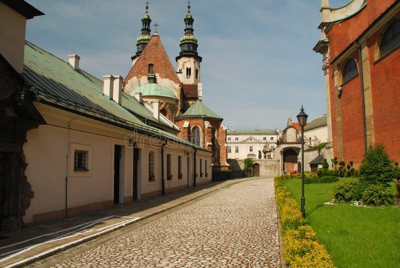 Kraków, Polonia. Iglesia de San Pedro y de Paul. imagen de archivo libre de regalías