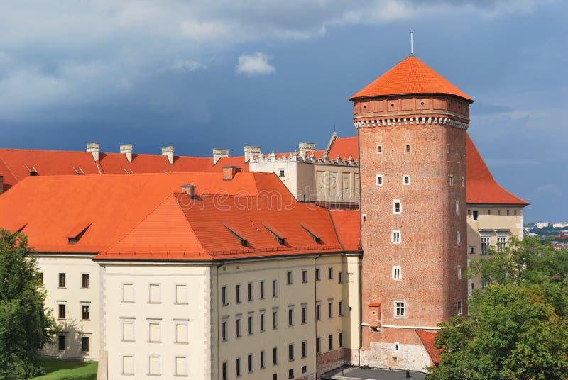 Download Krakau. Alte Stadt Vor Dem Sturm Stockfoto - Bild von tiled, stürmisch: 26365110