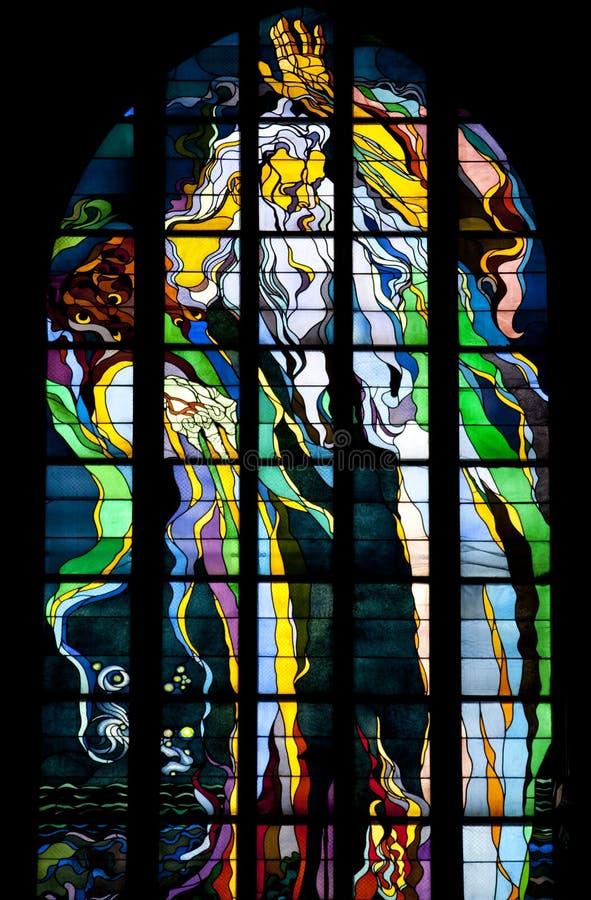 Krakau - Franziskanerkirche - Polen lizenzfreie stockbilder