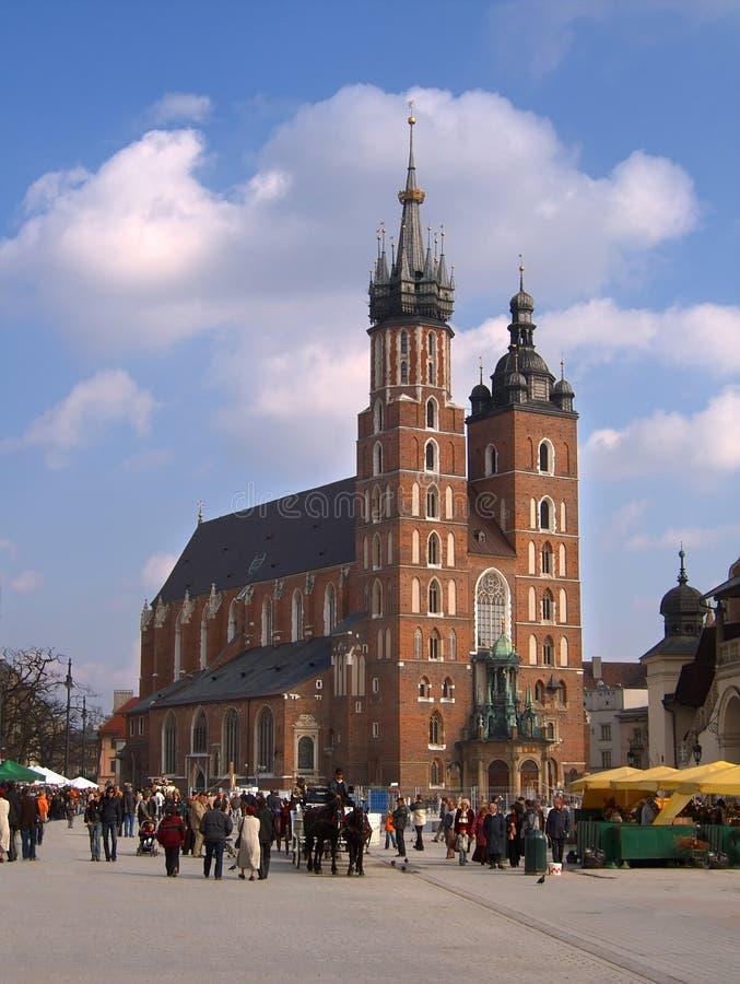 Krakau, Polen lizenzfreies stockfoto