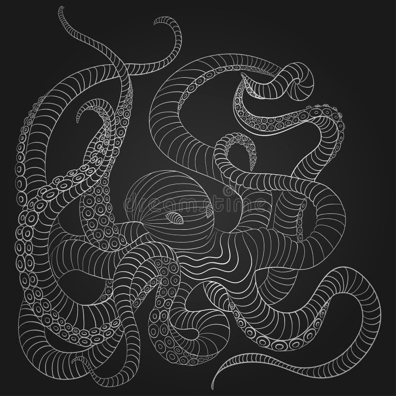 krake vektor abbildung