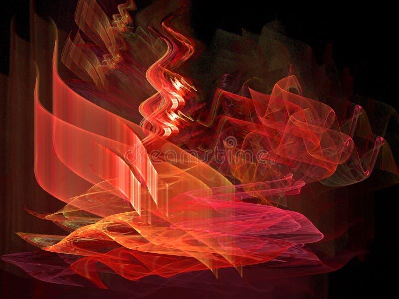 krakersa ogień ilustracja wektor