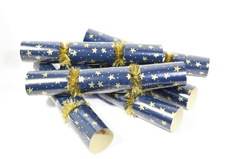 krakersy świąteczne zdjęcia stock