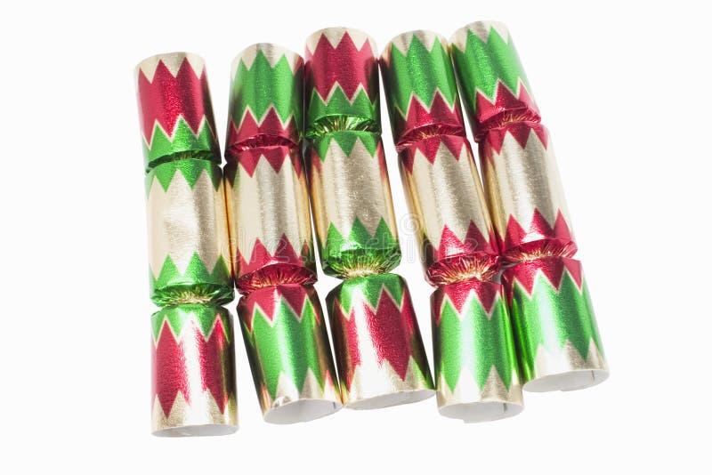 krakersy świąteczne zdjęcie stock