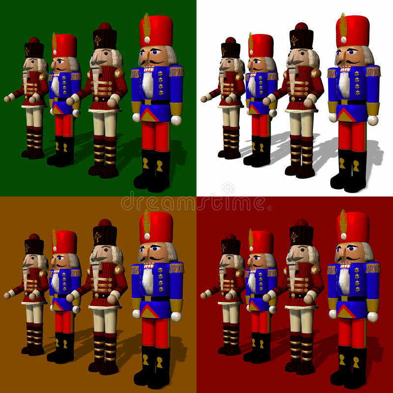 krakersy nuts royalty ilustracja