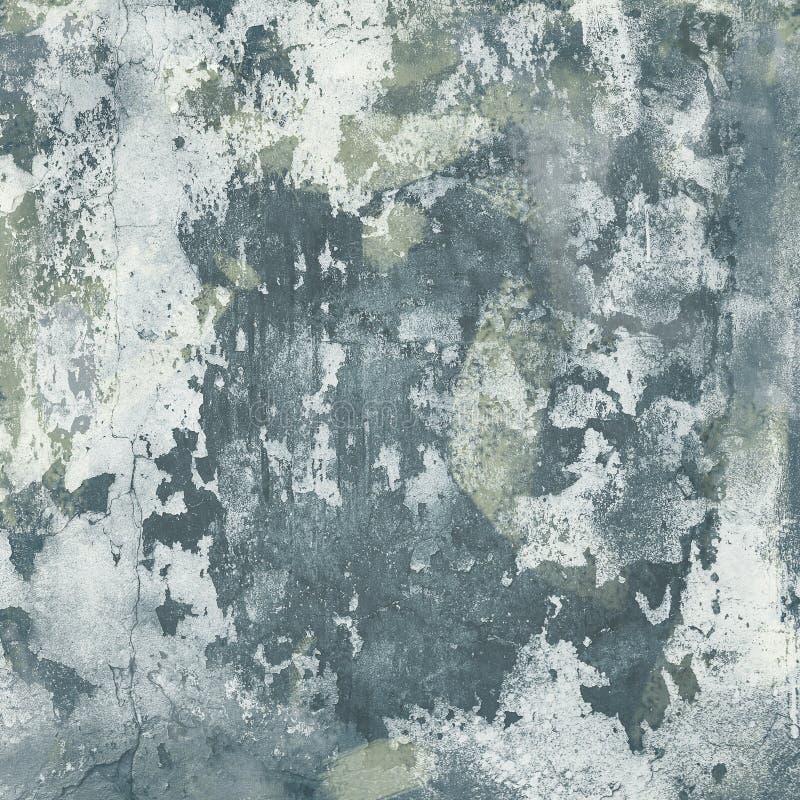 Krakingowa betonowa rocznik ściany tekstura stara fotografia stock