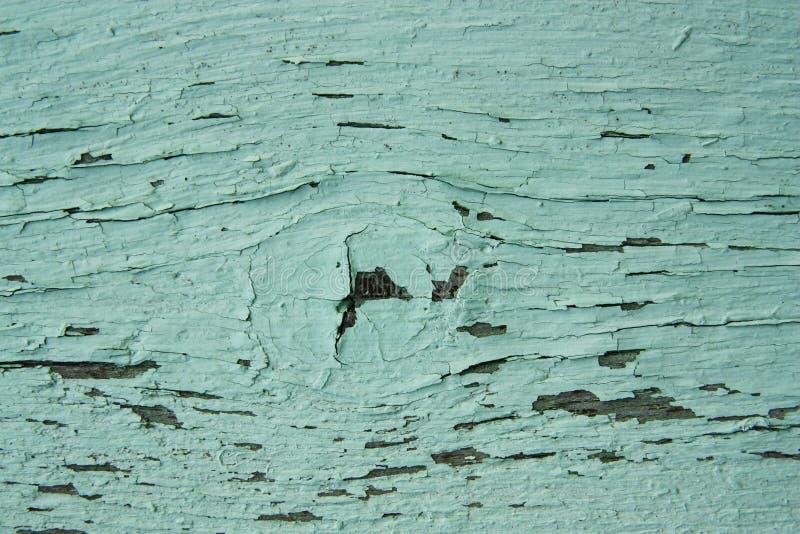 Krakingowa farba na drewnianej teksturze zdjęcia stock