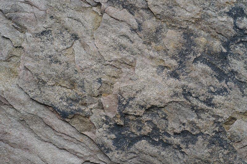 Krakingowa kamienna tekstura pękająca kamienna tekstura obrazy stock