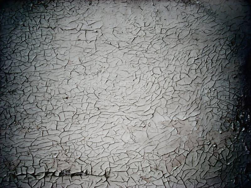 krakingowa stara farba tekstury ściany obraz stock