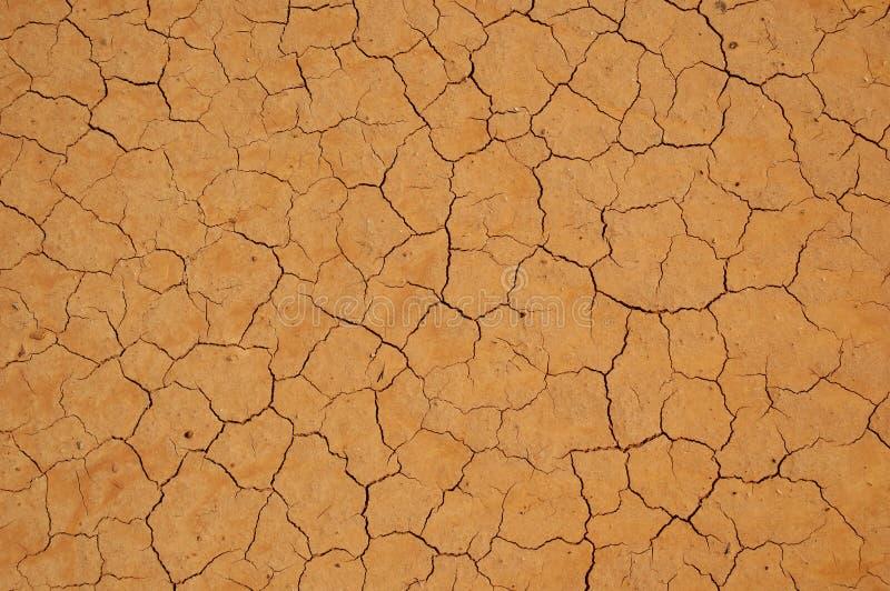 krakingowa sucha ziemia bardzo fotografia stock