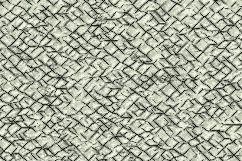 Krakingowa tekstura z alveole jak wzory i crevasses zdjęcie royalty free