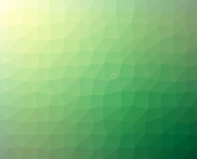 Krakingowej abstrakt zieleni Textured tło royalty ilustracja