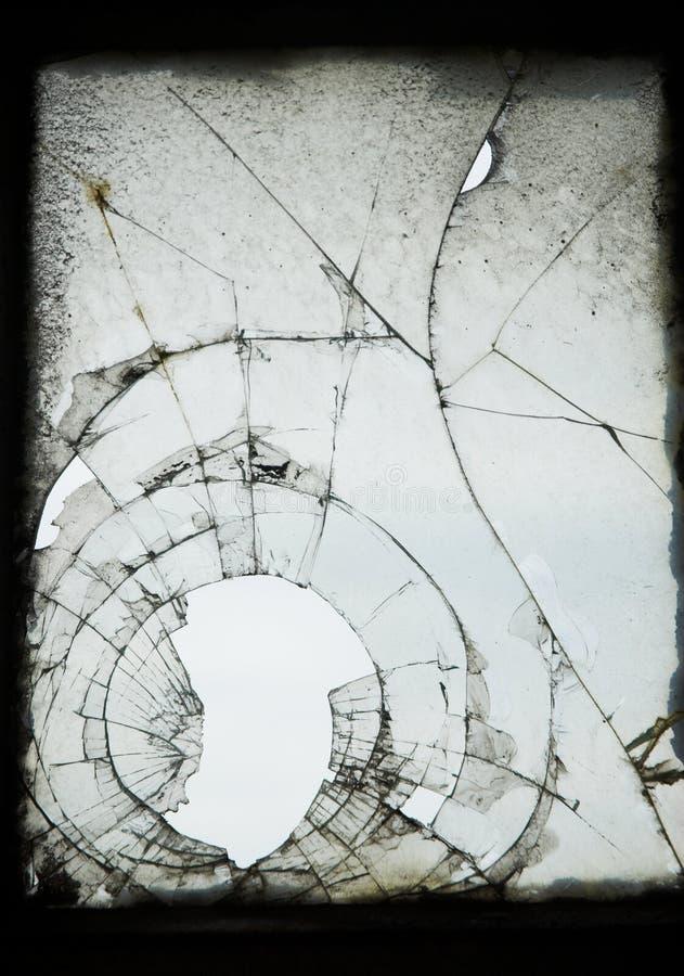 krakingowy stary okno zdjęcie royalty free