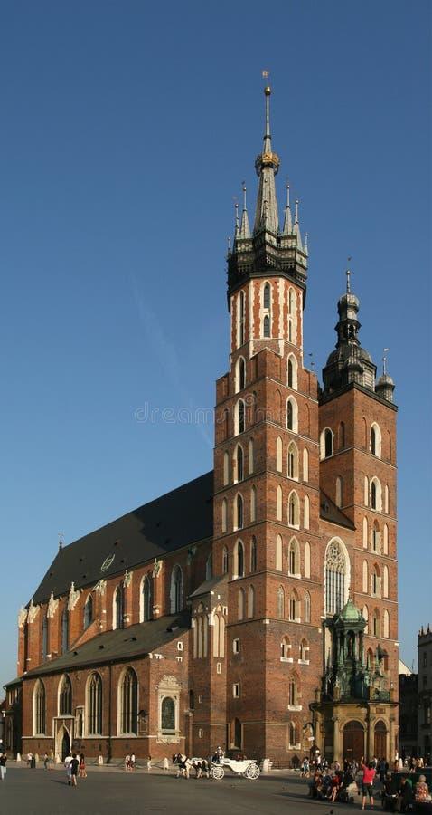 krakow arkivfoton