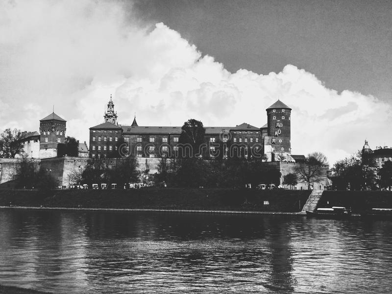 krakow arkivbild