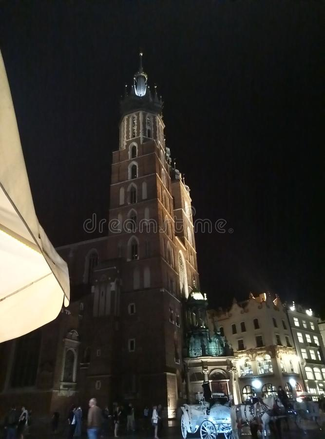 krakow стоковая фотография