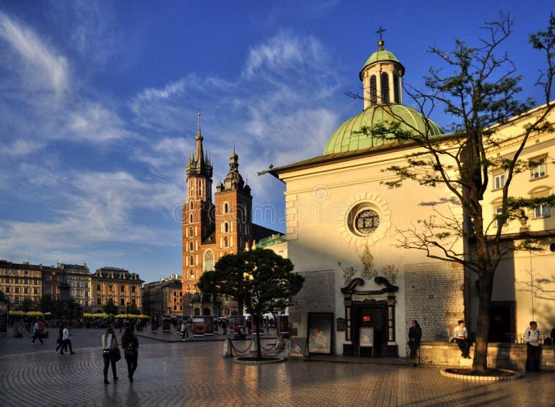 krakow imagem de stock royalty free