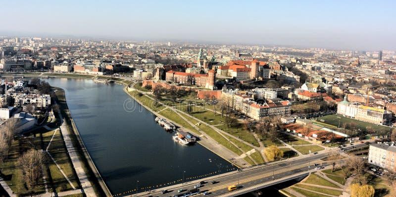 krakow royaltyfri fotografi