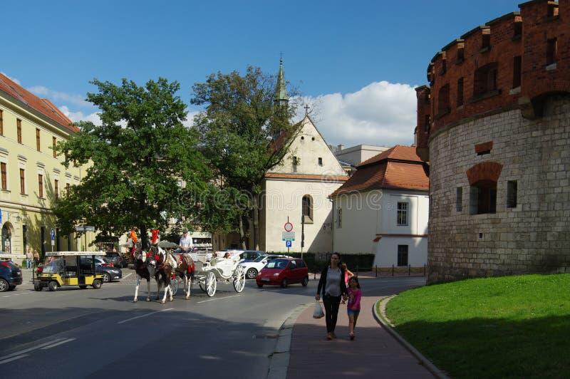 krakow obraz royalty free